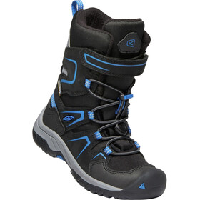 Keen Kids Levo WP Winter Shoes black/baleine blu